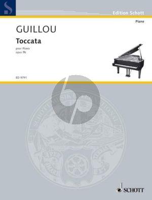 Guillou Toccata Op. 9b Klavier