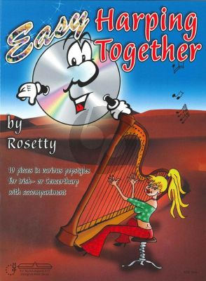 Rosetty Easy Harping Together (Bk-Cd)