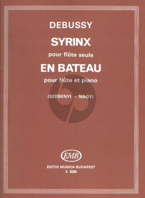 Debussy En Bateau Flute-Piano) with Syrinx Flute Solo