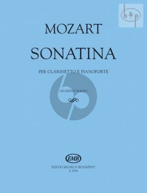 Sonatina for Clarinet in Bb and Piano