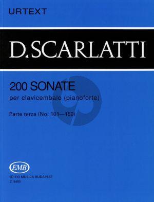 Scarlatti 200 Sonatas Vol.3 Harpsichord (Urtext) (edited by G.Balla)