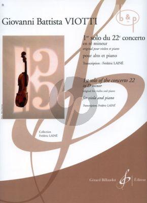 Concerto No.22 d-minor 1e Solo