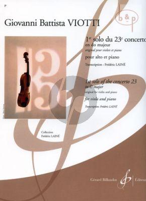 Concerto No.23 C-major 1e Solo