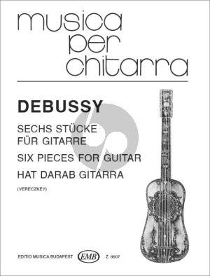 Debussy 6 Pieces for Guitar (arr. László Vereczkey)
