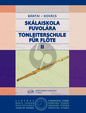Bantai-Kovacs Scale Tutor - Tonleiterschule Vol. 2 Flute