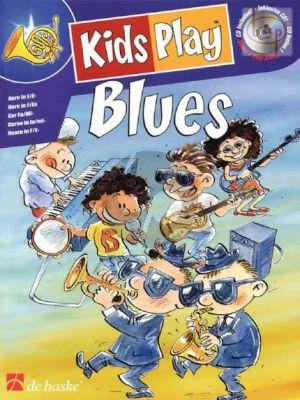 Kastelein-de Jong Kids Play Blues for Horn (Bk-Cd) (Grade 1 - 2)