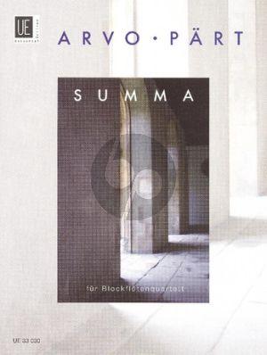 Part Summa (S[T]AA[BB]T) (Score/Parts)