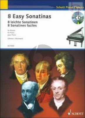 8 Easy Sonatinas (from Clementi to Beethoven) (Bk-Cd)