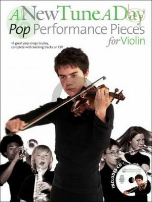 A New Tune a Day Pop Performance Pieces Violin