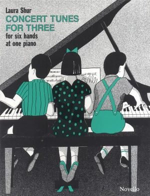 Shur Concert Tunes for Three for Piano 6 Hds