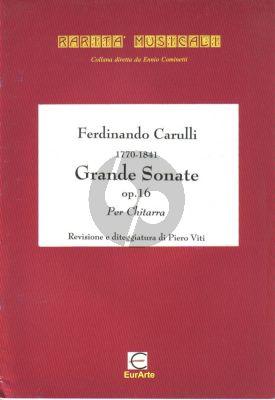 Carulli Grande Sonate Op.16 Guitar (Piero Viti)