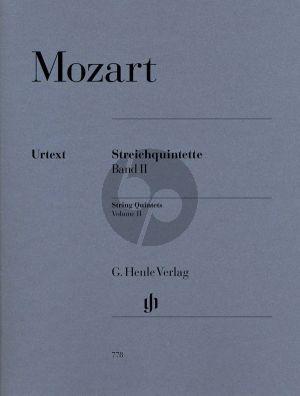 Mozart Quintets Vol.2 (KV 515 - 516 - 406(516b) (Parts) (edited by Ernst Herttrich) (Henle-Urtext)