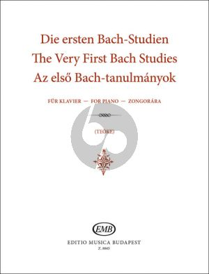 Very First Bach Studies for Piano (Mariann Teoke)