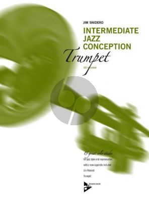 Snidero Intermediate Jazz Conception Trumpet (15 Solo Etudes for Jazz Style and Improvisation) (Bk-Cd)