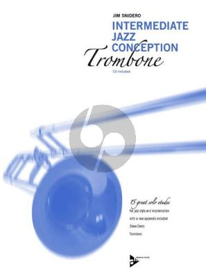Snidero Intermediate Jazz Conception Trombone (15 Solo Etudes for Jazz Style and Improvisation) (Bk-Cd)