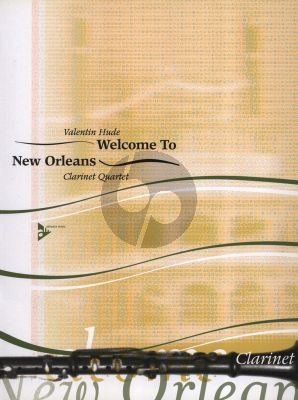 Hude Welcome to New Orleans 3 Clarinets [Bb] and Bass Clarinet (Score/Parts)