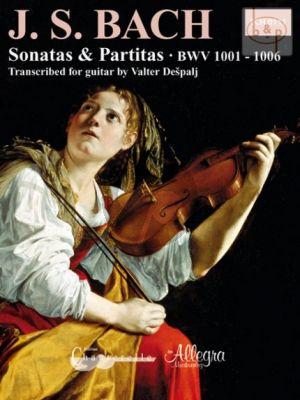 6 Sonatas & Partitas BWV 1001 - 1006