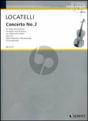 Concerto c-minor Op.3 No.2 (L'Arte del Violino)