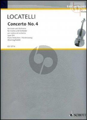 Concerto E-major Op.3 No.4 (L'Arte del Violino)