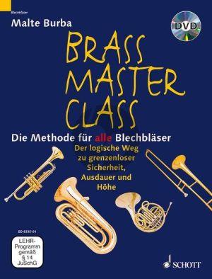 Burba Brass Master Class (Methode fur alle Blechblaser) (Bk-DVD) (german)
