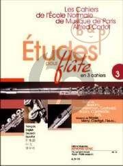 Etudes pour Flute Vol.3 (Merry-Caratge -Fleury)