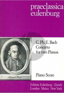 Bach Concerto E-flat major for 2 Pianos (Gabor Darvas)