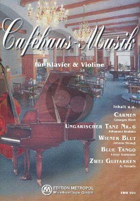 Cafehaus-Musik Violine-Klavier (arr. Harro Steffen)