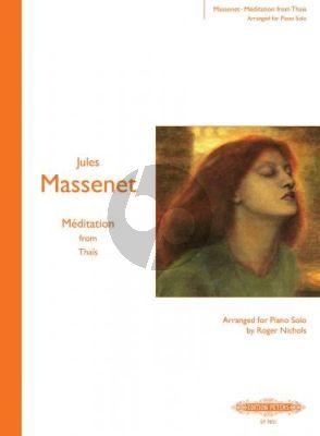 Massenet Meditation from Thais Piano solo (Roger Nichols)
