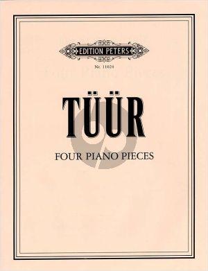 Tüür 4 Piano Pieces