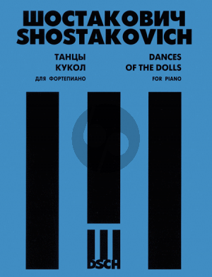 Shostakovich Dances of the Dolls Piano solo