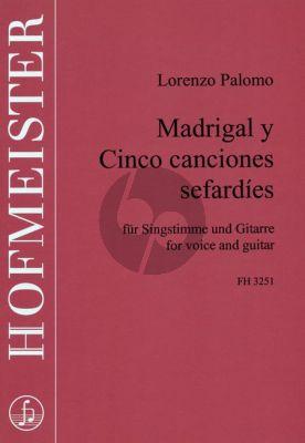Madrigal y 5 Canciones Sefardies Gesang und Gitarre