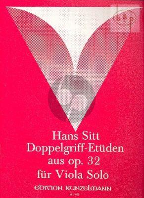 20 Doppelgriff Etüden aus Op.32
