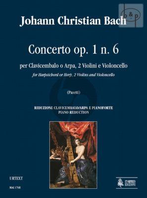 Concerto Op.1 No.6 Harpsichord[or Harp]- 2 Violins-Violonc.)
