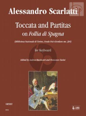 Toccata and Partitas on Follia di Spagna