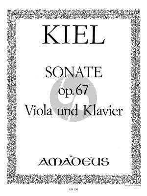 Kiel Sonate g-moll Op.67 Viola und Klavier