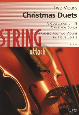 Album 18 Christmas Duets for 2 Violins (arranged by Searle) (Easy Grades)
