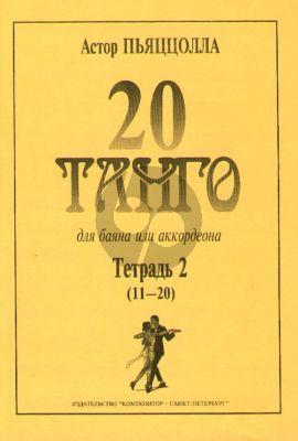 Piazzolla  20 Tangos Vol.2 (No.11-20)