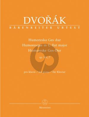 Dvorak Humoresque G-flat major Op.101 No.7 Piano solo (Barenreiter-Urtext)
