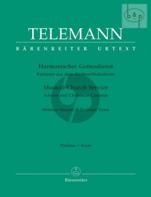 Harmonischer Gottesdienst (Weihnachtsfestkreis) (Medium Voice-Instruments-Bc)