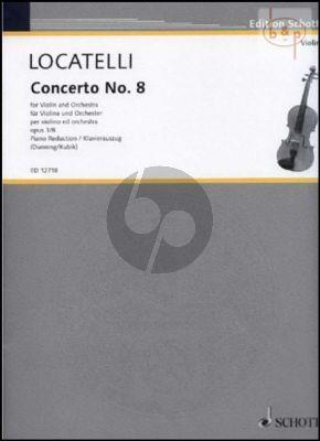 Concerto e-minor Op.3 No.8 (L'Arte del Violino)