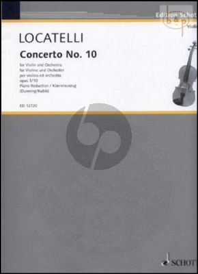 Concerto F-major Op.3 No.10 (L'Arte del Violino)