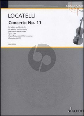 Concerto A-major Op.3 No.11 (L'Arte del Violino)