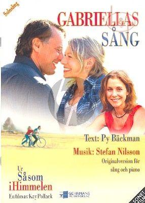 Gabriellas sang (Solo Voice-Piano)