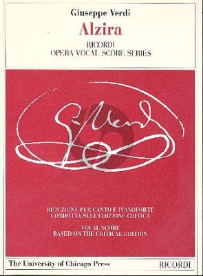 Alzira Vocal Score (it./engl.)