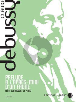 Debussy Prelude l'Apres Midi d'une Faune (Flute{Violon]-Piano
