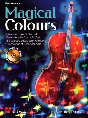 Dungen Magical Colours for Cello (Pos. 1 - 4) (Bk-Cd)