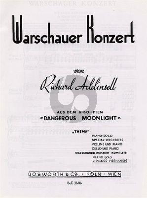Warsaw Concerto 2 Piano's
