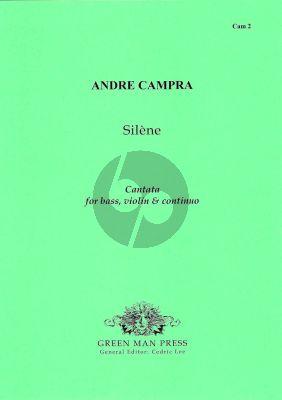 Campra Silene Bass Voice-2 Violins-Bc (Score/Parts)