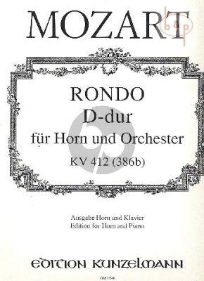Rondo D-dur KV 412 (386b) (Horn-Orch.)