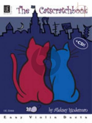 Catscratchbook (10 Easy Violin Duets with Poems) (with play-along CD)
